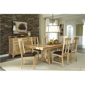 AAmerica Cattail Bungalow Casual Dining Room Group
