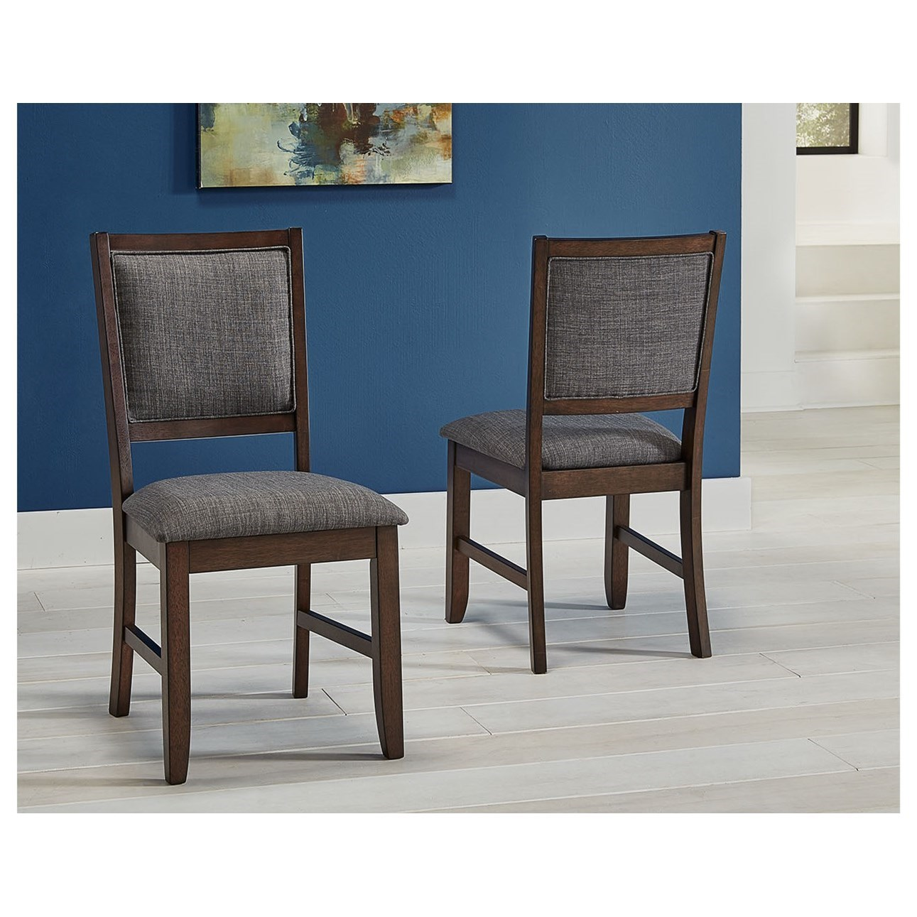 Chesney Upholstered Side Chair  by A-A at Walker's Furniture