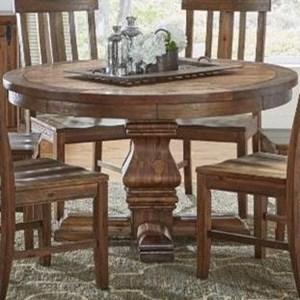 """AAmerica Dawson 48"""" Round Pedestal Table"""