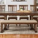 AAmerica Dawson Upholstered Bench - Item Number: DAW-WT-2-95-K