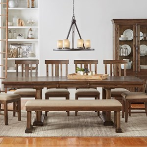 AAmerica Dawson Trestle Table