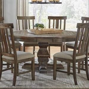 """AAmerica Dawson 54"""" Round Pedestal Table"""