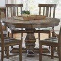 "AAmerica Dawson 48"" Round Pedestal Table - Item Number: DAW-WT-6-51-0"
