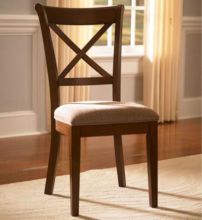 AAmerica Desoto X-Back Side Chair - Item Number: DES-SI-2-47-K