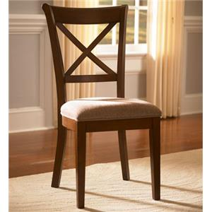 AAmerica Desoto X-Back Side Chair