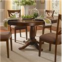 AAmerica Desoto Oval Pedestal Table - Item Number: DES-SI-6-15-0