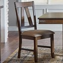 AAmerica Eastwood Dining Upholstered Side Chair - Item Number: EAWGG265K