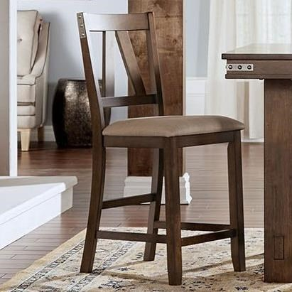 Eastwood Dining Upholstered Counter Stool by A-A at Walker's Furniture