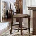 AAmerica Eastwood Dining Upholstered Counter Stool - Item Number: EAWGG365K