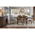 AAmerica Eastwood Dining Casual Dining Room Group - Item Number: EAWGG6310+6x265K+9010