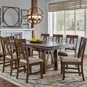 AAmerica Westwood Butterfly Leaf Trestle Table - Item Number: EAWGG6310