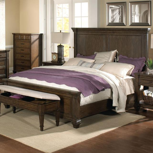 AAmerica Gallatin King Panel Bed - Item Number: GLN-TM-5-13-0