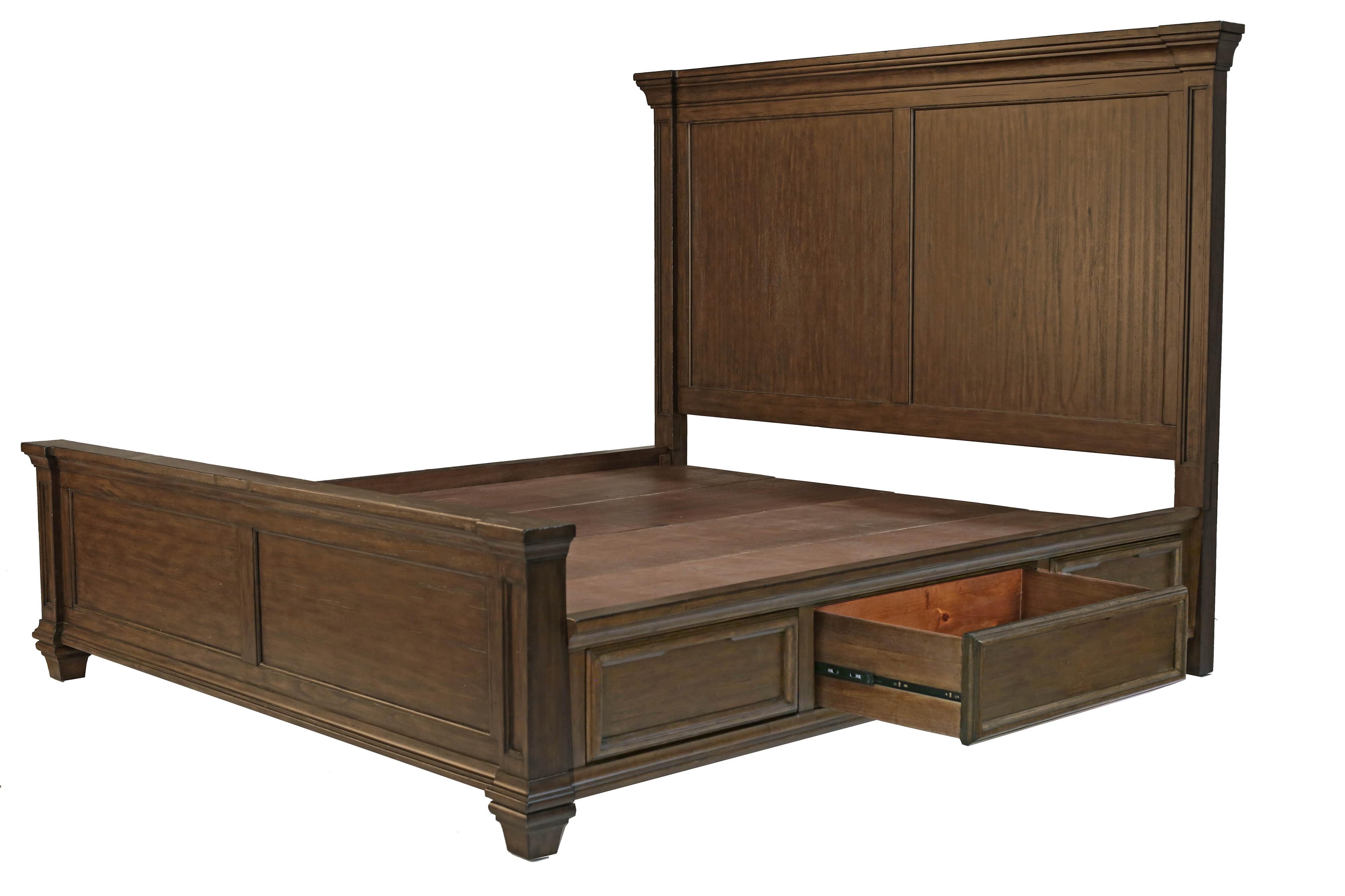 AAmerica Gallatin Queen Panel Storage Bed - Item Number: GLN-TM-5-03-1