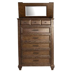 AAmerica Gallatin 6 Drawer Tall Chest