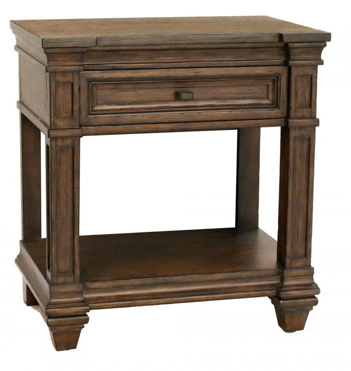 AAmerica Gallatin 1 Drawer Nightstand - Item Number: GLN-TM-5-76-0