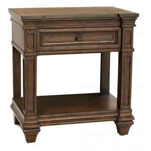 AAmerica Gallatin 1 Drawer Nightstand