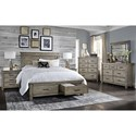 AAmerica Glacier Point Cal King Storage Bedroom Group - Item Number: GLP CK Bedroom Group 2