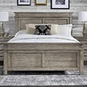 AAmerica Glacier Point Queen Panel Bed - Item Number: GLP-GR-5-03-0