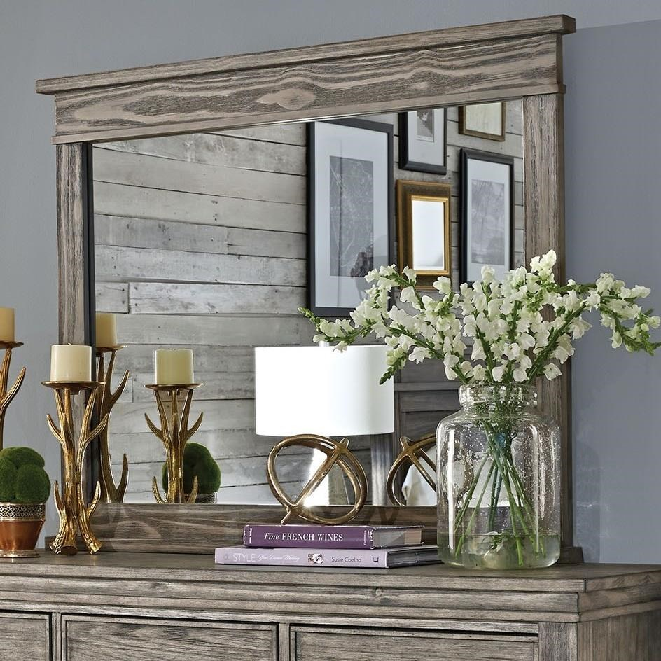 Glacier Point Mirror by A-A at Walker's Furniture
