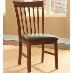 AAmerica Granite Slatback Side Chair