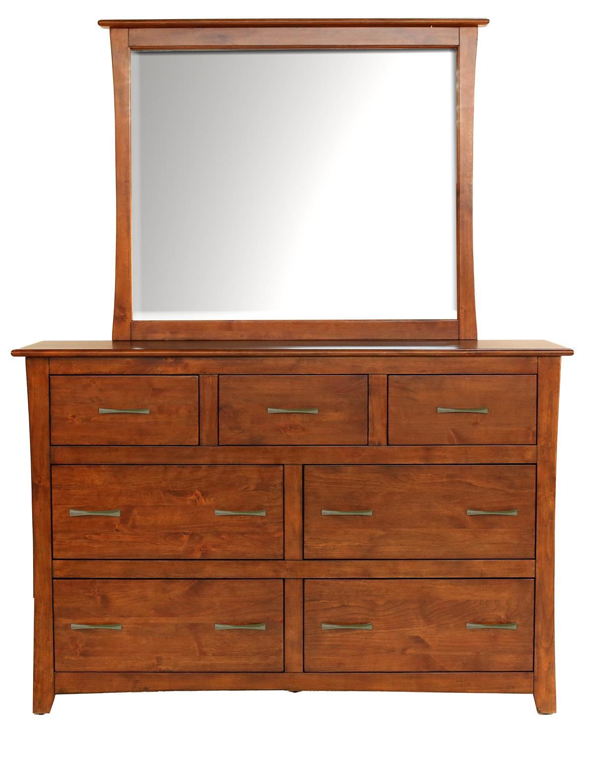Grant Park Dresser & Mirror Set by A-A at Walker's Furniture