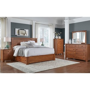 AAmerica Guilford Queen Bedroom Group