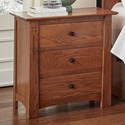 AAmerica Guilford Nightstand - Item Number: GUA-OA-5-75-0