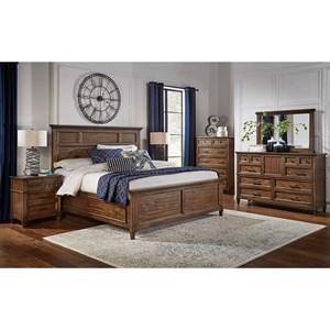 AAmerica Harborside Queen Bedroom Group