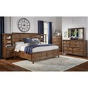 AAmerica Harborside Queen Bedroom Group - Item Number: HAB-SV Q Bedroom Group 2