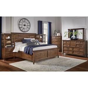 AAmerica Harborside Cal King Bedroom Group