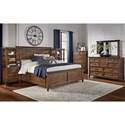 AAmerica Harborside Queen Bedroom Group - Item Number: HAB-SV Q Bedroom Group 3
