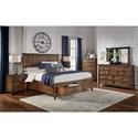 AAmerica Harborside Cal King Bedroom Group - Item Number: HAB-SV CK Bedroom Group 4