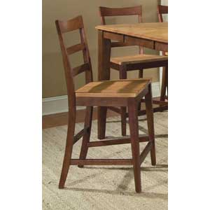 AAmerica Bristol Point Ladder Back Counter Stool