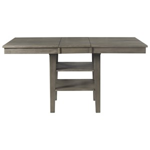 AAmerica Huron Rectangular Counter Height Pedestal Table