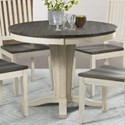 AAmerica Huron Round Pedestal Table - Item Number: HUR-CO-6-10-0