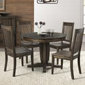 AAmerica Huron Transitional Table and Chair Set - Item Number: HUR-WR-6-10-0+4x2-65-K