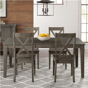 AAmerica Huron Transitional Table and Chair Set