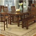 AAmerica Laurelhurst Trestle Table - Item Number: LAU-OA-6-30-0