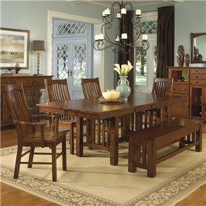 AAmerica Laurelhurst Table and 4 Side Chairs
