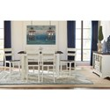 AAmerica Mariposa Counter Height Dining Room Group - Item Number: CO Dining Room Group 6