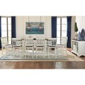 AAmerica Mariposa Counter Height Dining Room Group - Item Number: CO Dining Room Group 7