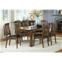 AAmerica Winchester 5-Piece Tables and Chairs Set - Item Number: DMAR-5PC