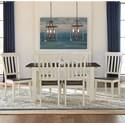 AAmerica Mariposa 7 Piece Dining Set - Item Number: MRP-CO-6-20-0+6xMRP-CO-2-65-K