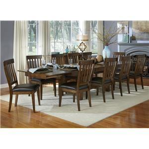 AAmerica Mariposa 11 Piece Table and Chair Set