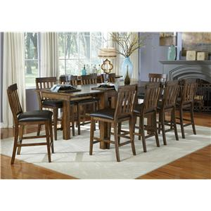 AAmerica Mariposa 11 Piece Table and Chairs Set