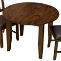 AAmerica Mason Oval Leg Table with Leaf - Item Number: MAS-MA-6-11-0
