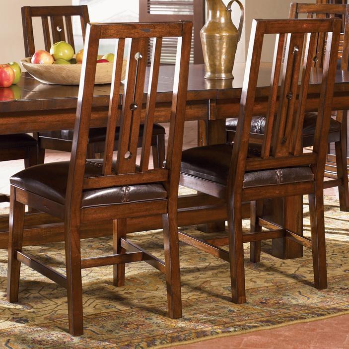 AAmerica Mesa Rustica Side Chair - Item Number: MES-AM-2-65-0