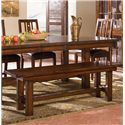 AAmerica Mesa Rustica Bench - Item Number: MES-AM-2-95-K
