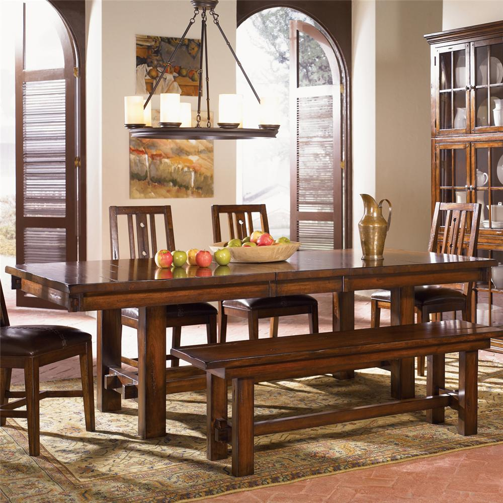 AAmerica Mesa Rustica Dining Table - Item Number: MES-AM-6-35-0