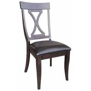 AAmerica Midtown Hour Glass Side Chair